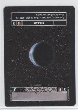 1995 Star Wars Customizable Card Game: Premiere Expansion Set [Base] #NoN - Alderaan (Dark)