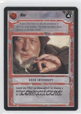 1995 Star Wars Customizable Card Game: Premiere Expansion Set [Base] #NoN - Alter