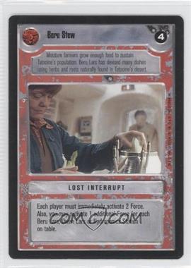 1995 Star Wars Customizable Card Game: Premiere Expansion Set [Base] #NoN - Beru Stew