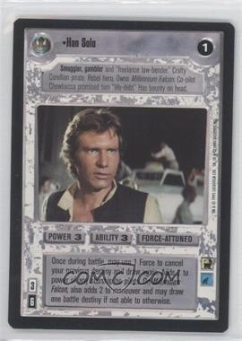 1995 Star Wars Customizable Card Game: Premiere Expansion Set [Base] #NoN - Han Solo