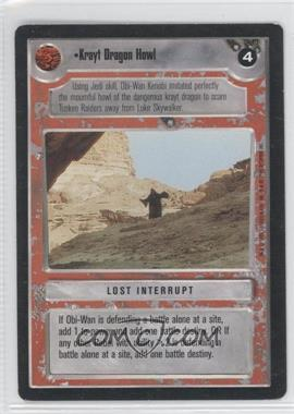 1995 Star Wars Customizable Card Game: Premiere Expansion Set [Base] #NoN - Krayt Dragon Howl