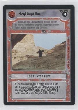 1995 Star Wars Customizable Card Game: Premiere Expansion Set [Base] #NoN - Krayt Dragon Howl