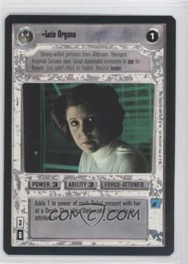 1995 Star Wars Customizable Card Game: Premiere Expansion Set [Base] #NoN - Leia Organa