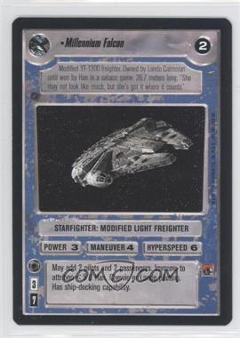 1995 Star Wars Customizable Card Game: Premiere Expansion Set [Base] #NoN - Millennium Falcon