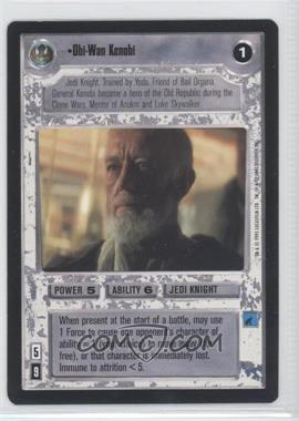 1995 Star Wars Customizable Card Game: Premiere Expansion Set [Base] #NoN - Obi-Wan Kenobi