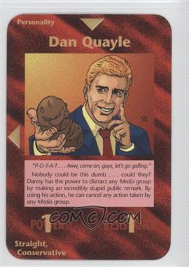 1996 Illuminati: New World Order - [Base] - 1st Edition #NoN - Dan Quayle