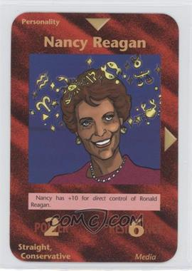 1996 Illuminati: New World Order 1st Edition #NoN - Nancy Reagan
