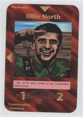 1996 Illuminati: New World Order 1st Edition #NoN - Ollie North