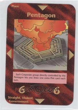 1996 Illuminati: New World Order 1st Edition #NoN - Pentagon