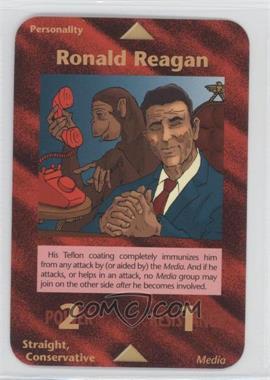 1996 Illuminati: New World Order 1st Edition #NoN - Ronald Reagan