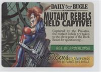 Jean Grey, Dark Beast - Mutant Rebels Held Captive!