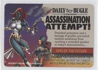 Mystique, Destiny - Assassination Attempt
