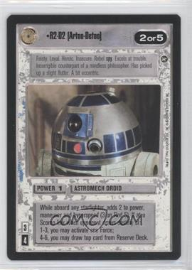 1996 Star Wars Customizable Card Game: A New Hope - Expansion Set [Base] #NoN - R2-D2 (Artoo-Detoo)
