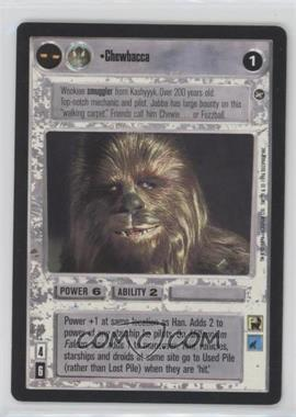 1996 Star Wars Customizable Card Game: A New Hope Expansion Set [Base] #NoN - Chewbacca