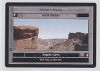Tatooine: Bluffs