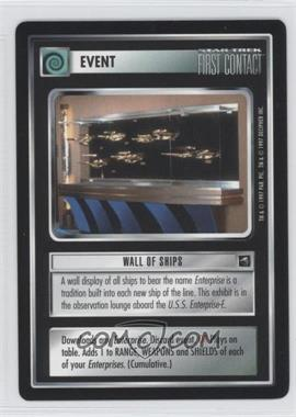 1997 Star Trek Customizable Card Game: First Contact Expansion Set [Base] #NoN - Wall of Ships