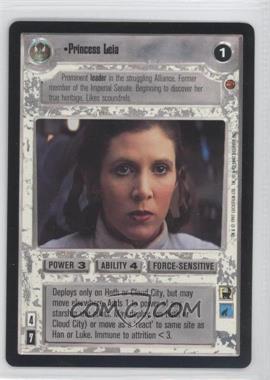 1997 Star Wars Customizable Card Game: Cloud City - Expansion Set [Base] #NoN - Princess Leia