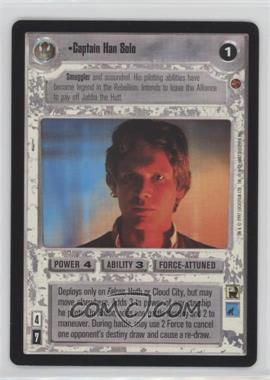 1997 Star Wars Customizable Card Game: Cloud City Expansion Set [Base] #NoN - Captain Han Solo