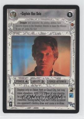 1997 Star Wars Customizable Card Game: Cloud City Expansion Set [Base] #NoN - Captain Han Solo