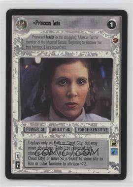 1997 Star Wars Customizable Card Game: Cloud City Expansion Set [Base] #NoN - Princess Leia