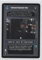 Lieutenant Commander Ardan