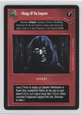 1997 Star Wars Customizable Card Game: Dagobah Expansion Set [Base] #NoN - Visage of the Emperor