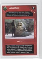 Jabba's Influence