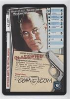 Assistant Director Walter Skinner (Staring at Camera)