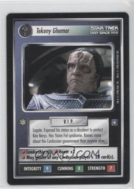 1998 Star Trek Customizable Card Game: Deep Space 9 - Expansion Set [Base] #NoN - Tekeny Ghemor