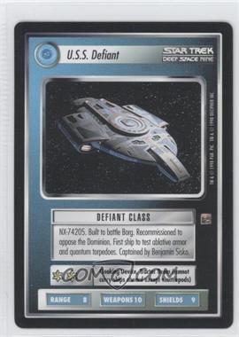 1998 Star Trek Customizable Card Game: Deep Space 9 - Expansion Set [Base] #NoN - U.S.S. Defiant