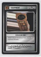 Cardassian Padd