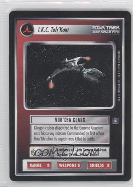 1998 Star Trek Customizable Card Game: Deep Space 9 Expansion Set [Base] #NoN - I.K.C. Toh'Kaht