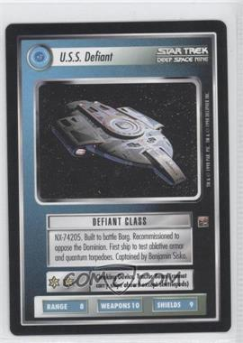 1998 Star Trek Customizable Card Game: Deep Space 9 Expansion Set [Base] #NoN - U.S.S. Defiant