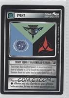Treaty: Federation/Romulan/Klingon