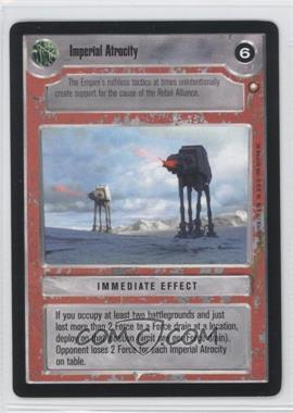 1998 Star Wars Customizable Card Game: Special Edition - Expansion Set [Base] #NoN - Imperial Atrocity