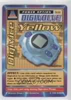 Digivice Yellow