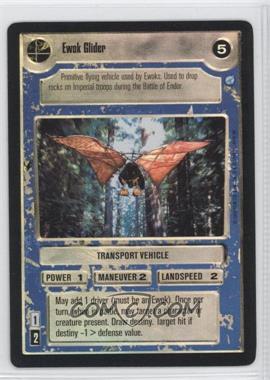 1999 Star Wars Customizable Card Game: Endor - Expansion Set [Base] - Foil #NoN - Ewok Glider