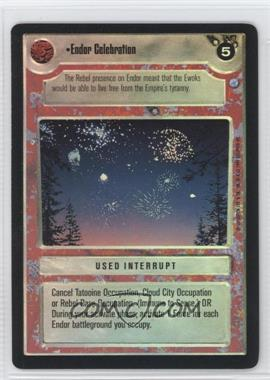 1999 Star Wars Customizable Card Game: Endor Expansion Set [Base] Foil #NoN - Endor Celebration