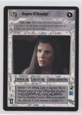 1999 Star Wars Customizable Card Game: Endor Expansion Set [Base] #NoN - Daughter Of Skywalker
