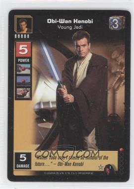 1999 Star Wars: Young Jedi Collectible Card Game - The Menace of Darth Maul - Expansion Set [Base] #1 - Obi-Wan Kenobi
