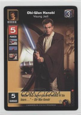 1999 Star Wars: Young Jedi Collectible Card Game - The Menace of Darth Maul Expansion Set [Base] #1 - Obi-Wan Kenobi