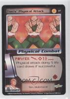 Tien's Physical Attack