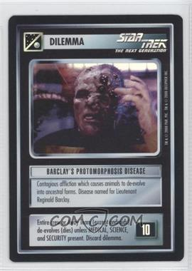 2000 Star Trek Customizable Card Game: Reflections (The First Five Year Mission) - Foil Expansion Set #NoN - Barclay's Protomorphosis Disease