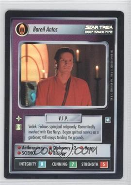 2000 Star Trek Customizable Card Game: Reflections (The First Five Year Mission) - Foil Expansion Set #NoN - Bareil Antos