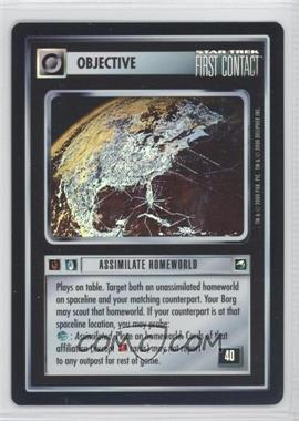 2000 Star Trek Customizable Card Game: Reflections (The First Five Year Mission) Foil Expansion Set #NoN - Assimilate Homeworld