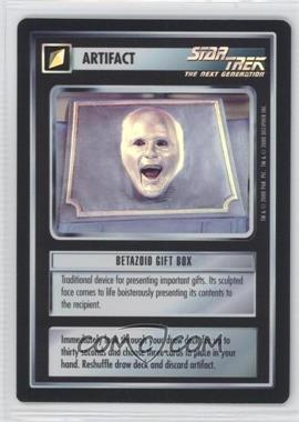 2000 Star Trek Customizable Card Game: Reflections (The First Five Year Mission) Foil Expansion Set #NoN - Betazoid Gift Box