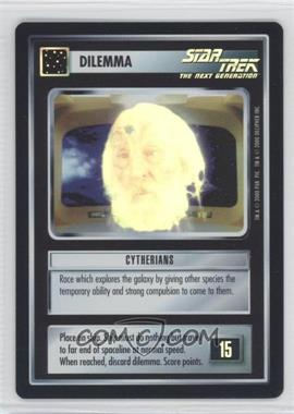 2000 Star Trek Customizable Card Game: Reflections (The First Five Year Mission) Foil Expansion Set #NoN - Cytherians