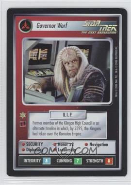 2000 Star Trek Customizable Card Game: Reflections (The First Five Year Mission) Foil Expansion Set #NoN - Governor Worf