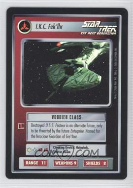 2000 Star Trek Customizable Card Game: Reflections (The First Five Year Mission) Foil Expansion Set #NoN - I.K.C. Fek'lhr