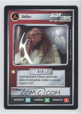2000 Star Trek Customizable Card Game: Reflections (The First Five Year Mission) Foil Expansion Set #NoN - Kahless